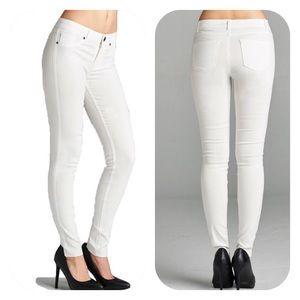 Denim - Classic 5 pocket - WHITE